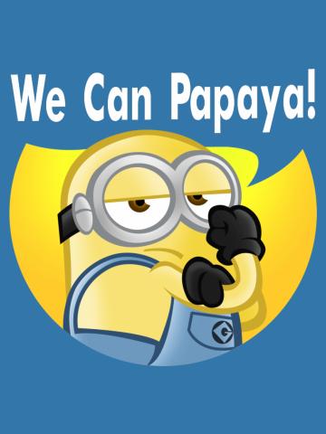 We can papaya