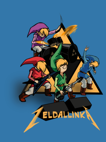 Zeldallinka - Red Green Blue & Purple Link