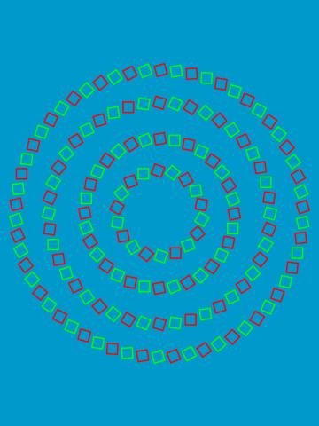 4 Perfect Circles (Optical Illusion)