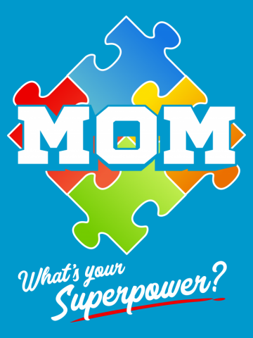 Autism Mom Puzzle What's Your Superpower