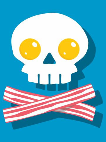 Breakfast Skull