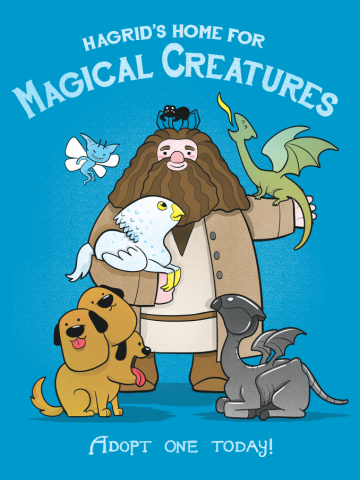 Hagrid's Home for Magical Creatures
