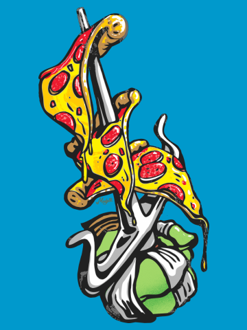 It's Always Pizza Party Time