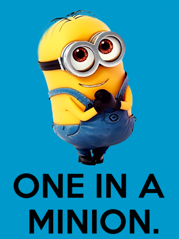 One in a minion - Despicable me