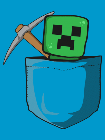 Pocket creeper - Minecraft