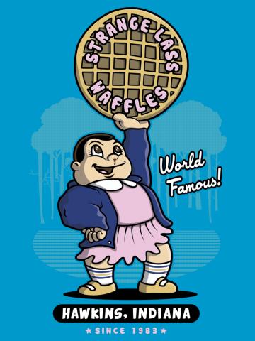 Strange Lass Waffles