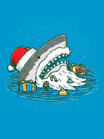The Santa Shark
