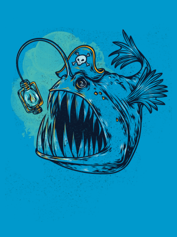 Deep sea pirate