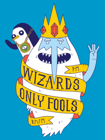 Wizards only Fools - Adventure Time