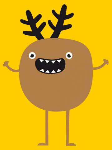 Funny & Crazy Christmas Reindeer