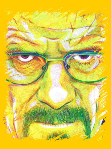 Walter White - Pencil Art