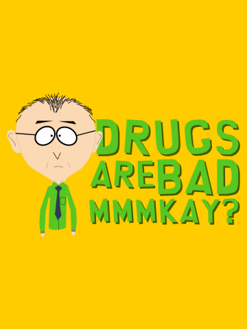 Drugs are Bad, Mkey - South Park