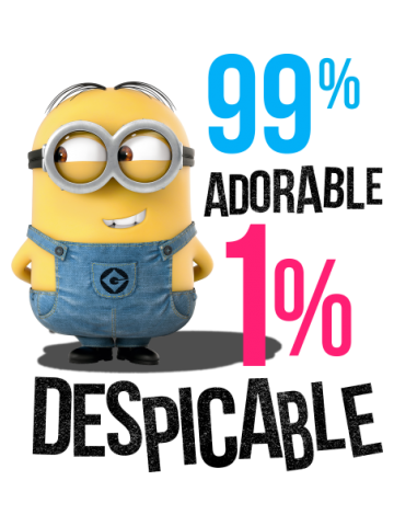 99% Adorable, 1% Despicable Minions