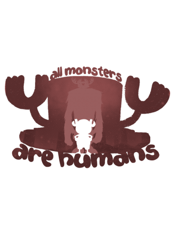 All monsters are humans