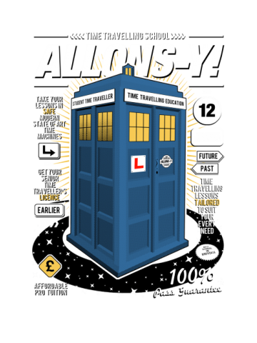Allons-y machine - Doctor Who