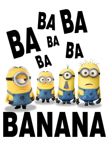 Ba Ba Ba Banana Minions