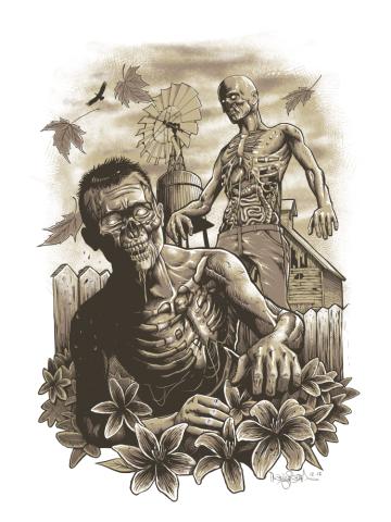 Backyard Zombies