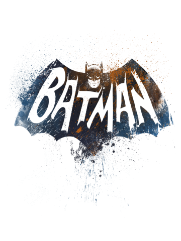 Batman - Old Logo Color