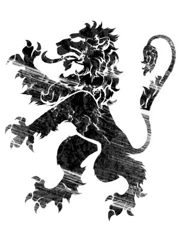 Black Lion Rampant