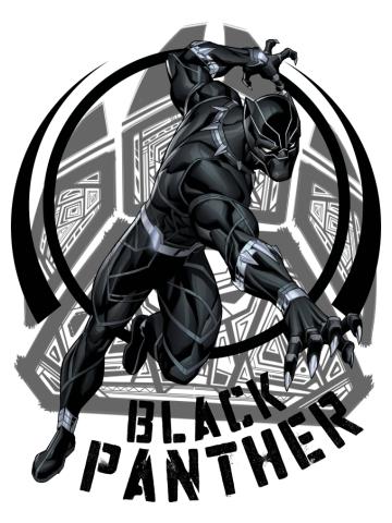 Black Panther Paw