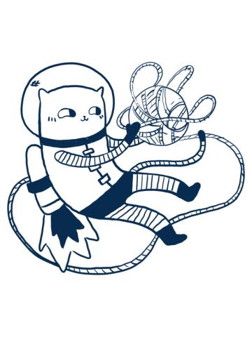 Catstronaut Yarn