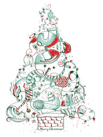 Christmas Tree Draw