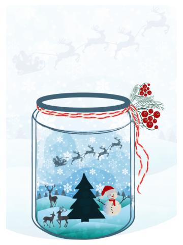 Christmas in Jar