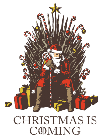 Christmas is coming - Game of Santa's Thrones