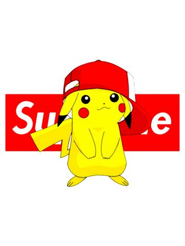 Cool Supreme feat Pikachu