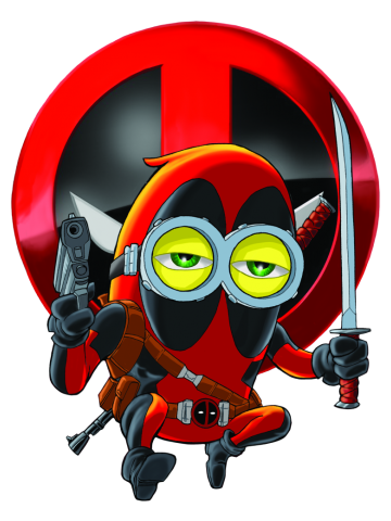 Deadpool Despicable Minion