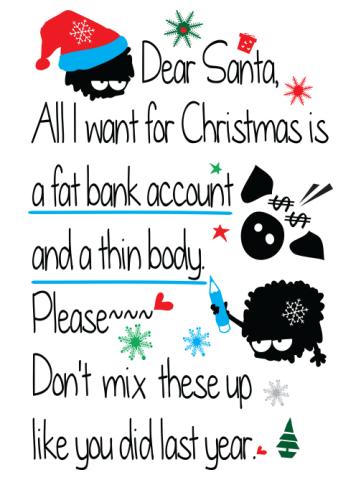 Dear Santa Wishes