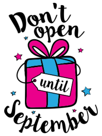 Don't open until ...