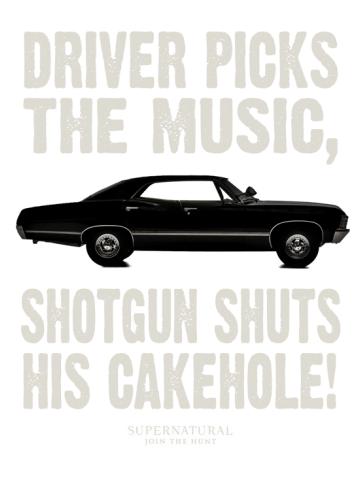 Driver Picks the Music - Supernatural