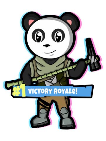 Fortnite Panda Mug