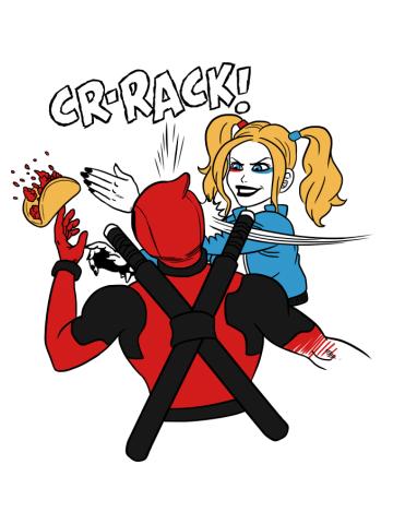 Harley Quinn vs Deadpool