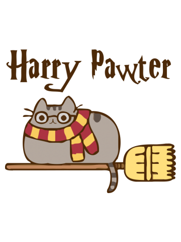 Harry Pawter - Pusheen