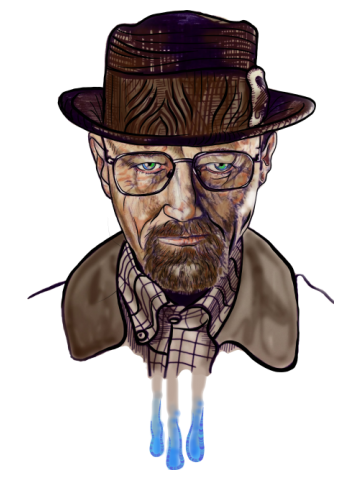 Heisenberg - Art drawing