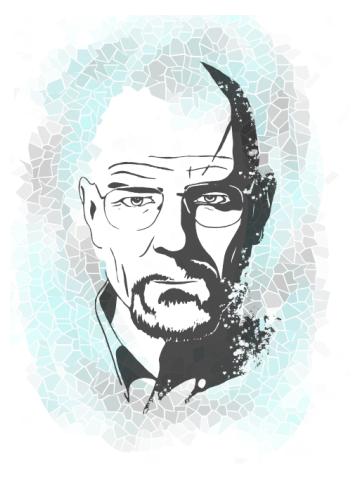 Heisenberg - Artistic tiles