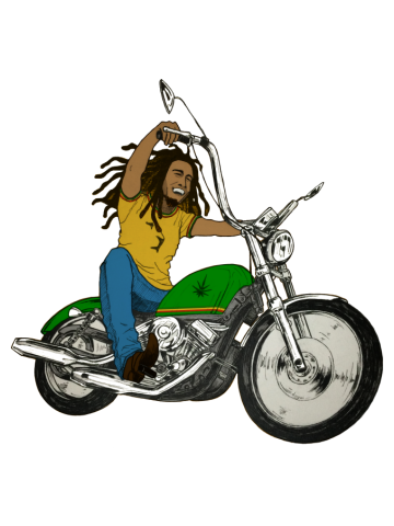 Hit The Road Bob - Marley Davidson