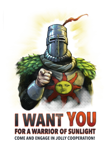 I want YOU for a Warrior of Sunlight