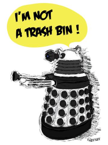 I'm not a Trash Bin!