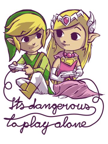 It's dangerous to play alone alt0