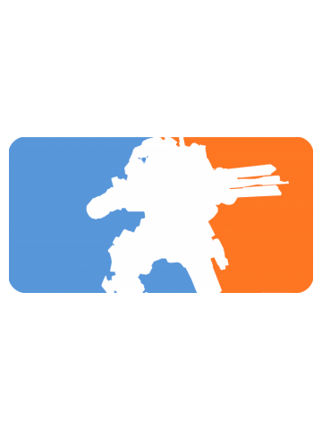 Major League Titan (Titanfall Blue and Orange)