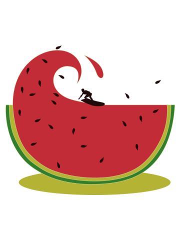 Melon splash