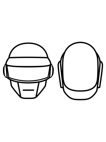 Minimalistic Daft Punk