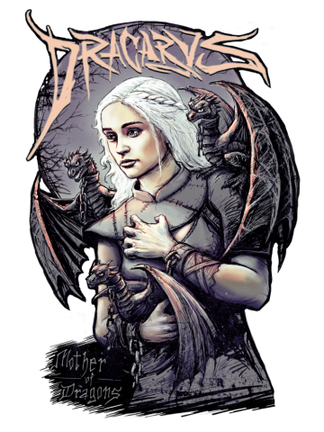 Mother of Dragons - Game of Thrones