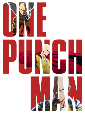 ONE PUNCH MAN TYPOGRAPHY