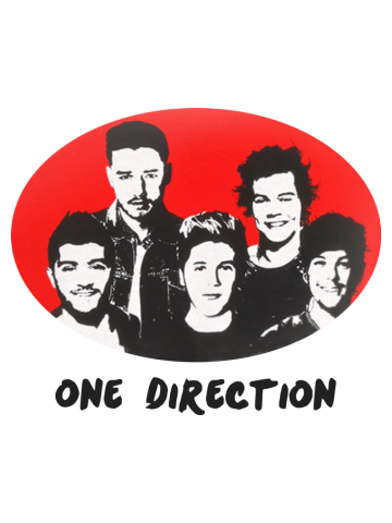 One Direction - Stencil logo