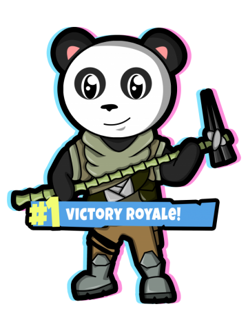 Panda Fortnite Shirt