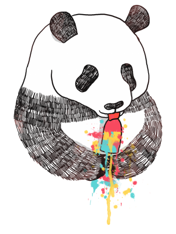 Pandas Love Ice Cream
